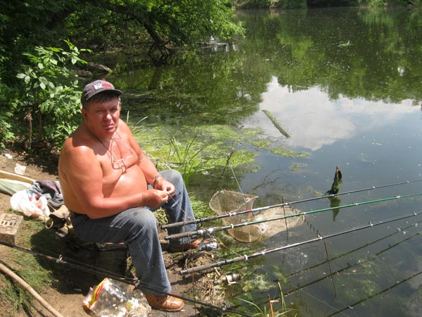 рыболовы краматорска