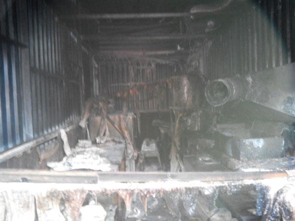 Пятница 13: в Краматорске на рынке сгорела чебуречная, фото-2