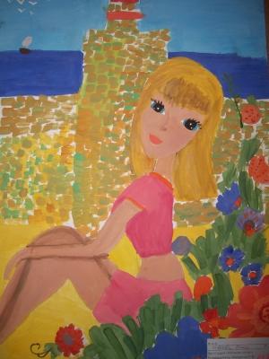 Ивкова Виктория, 9 лет