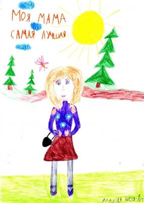 Настя Алания, 6 лет