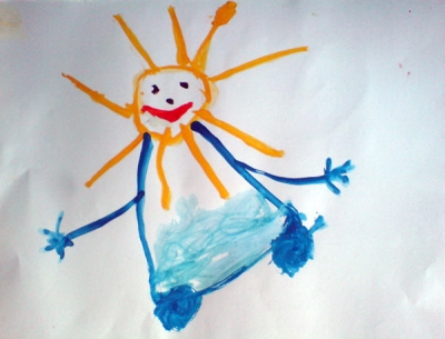Каплий Алеша, 3 года