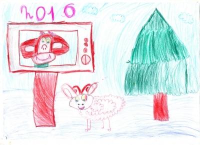 Шталь Оля, 5 лет
