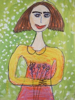 Поповская Антонина, 5 лет