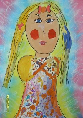 Хомякова Виктория, 5 лет