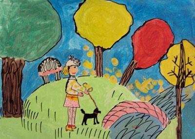 Чепурняк Кіра, 8 років
