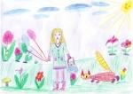 Овчарова Лилия, 5 лет